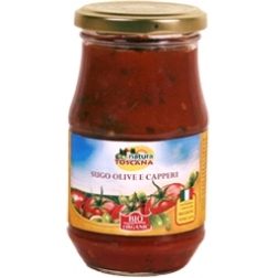 Tomato Sauce with olives & capers