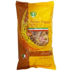 Wholewheat Penne Pasta shapes