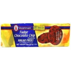 Voortman - Sugar Free Fudge Chocolate Chip Cookies (227g)