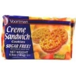 Voortman - Sugar Free Vanilla Creme Biscuits