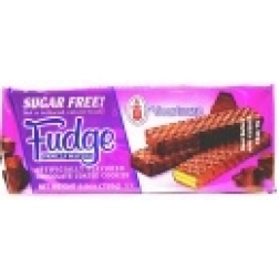 Voortman - Sugar Free Choc Coated Fudge Vanilla Wafers (155g)