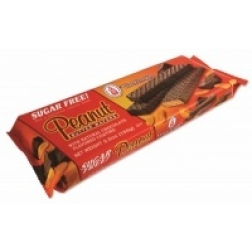 Voortman - Sugar Free Choc Coated Peanut Butter Wafers (155g)