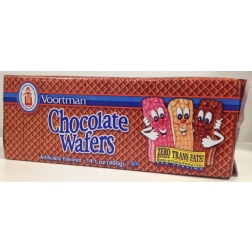 Voortman Brick Chocolate Wafers (400g) exp Oct 2013