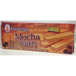 Voortman Brick Mocha Wafers (400g) exp Oct 2013