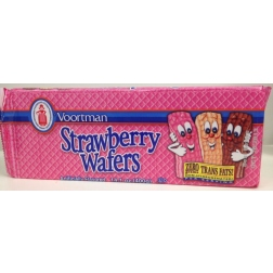 Voortman Brick Strawberry Wafers (400g) exp Oct 2013